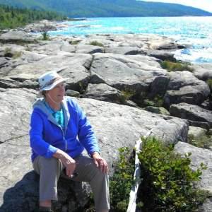 Rocky north shore of Lake Superior