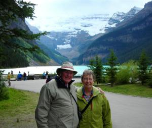 John and Elaine at Lake Louise