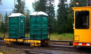 Railway essentials at Canyon Hot Springs