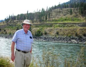 John in the Fraser Canyon