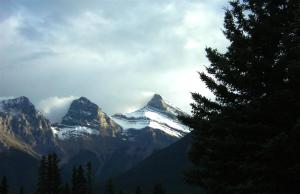 View from our campground in Canmore