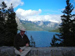 John at Lake Miniwanka