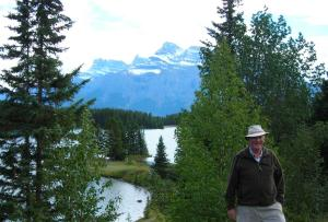 John at Two Jack Lakeside, Lake Miniwanka