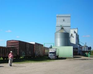 Wolesly Saskatchewan - Real grain elevator