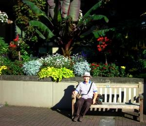 Empress Hotel Gardens, Victoria, BC