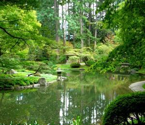 Japanese Garden at the University of British Columbia