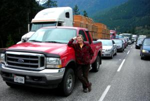 Waiting For Events on the Coquihalla