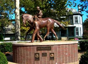 Secretariat Sculpture at Kentucky Horse Park