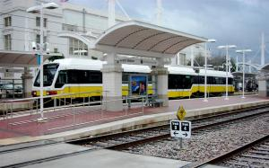 "Dallas has ""light rail"" local trains"