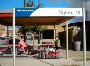 Taylor,TX - not a huge station