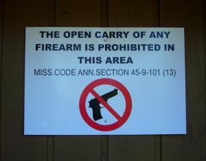 Hide your gun in Mississippi washrooms