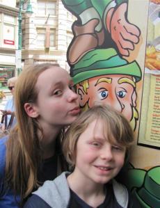 Alex and Keldan at Universal Studios