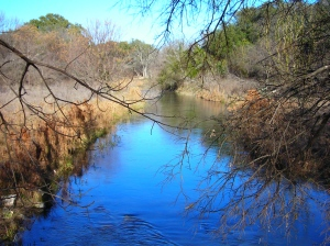 Fort Clark, Texas. A Creek Runs Through It